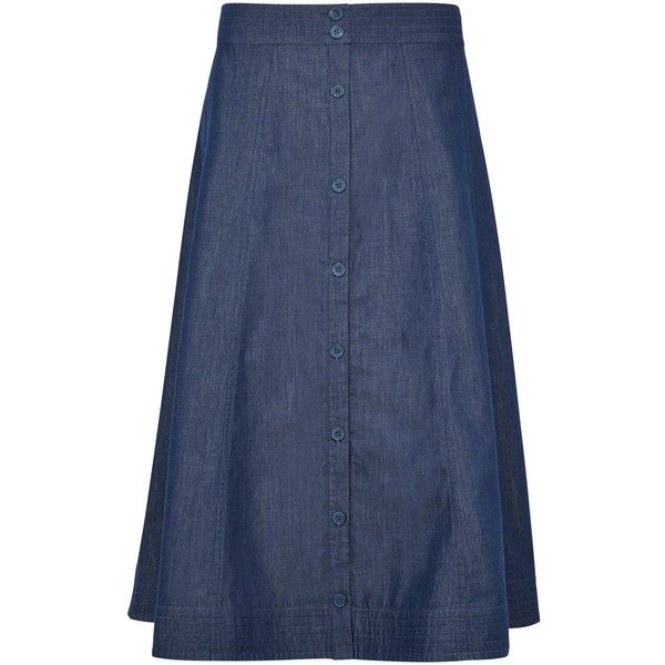 best 25 chambray skirt ideas on style