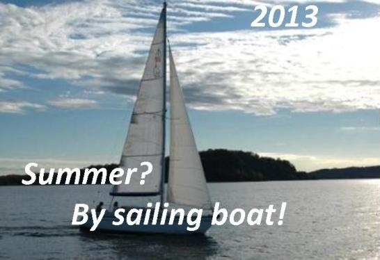 On sailing boat during holidays at Lake Maggiore – 2013... An unforgettable visit of Lake Maggiore by sailing boat!