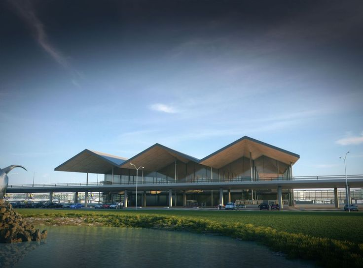 Nordic Office of Architecture designs Keflavik Airport as a gateway
