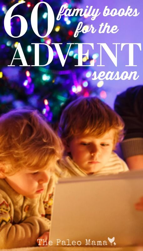 There are so many great children's books that you can read with your children during this coming Advent season. Here are 60 family books for advent season!