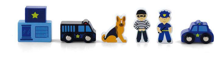 Osta Woodlii Puulelut Poliisi | Jollyroom
