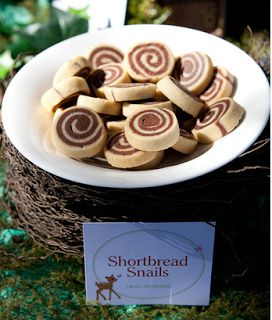 Party Frosting: Woodland - for girls! party ideas/inspiration