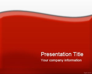 best red powerpoint templates images on, Powerpoint