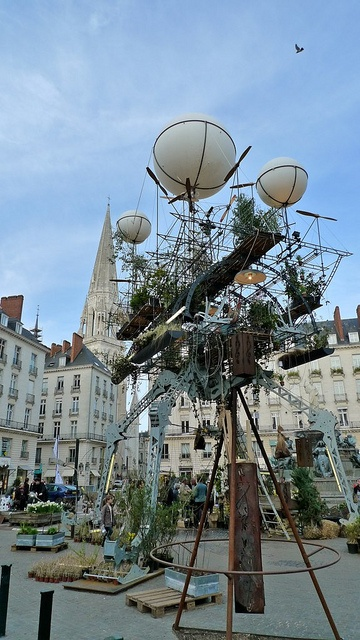 Voyage à Nantes - Serre Volante, Nantes (Loire-Atlantique, Pays-de-la-Loire, FRANCE)
