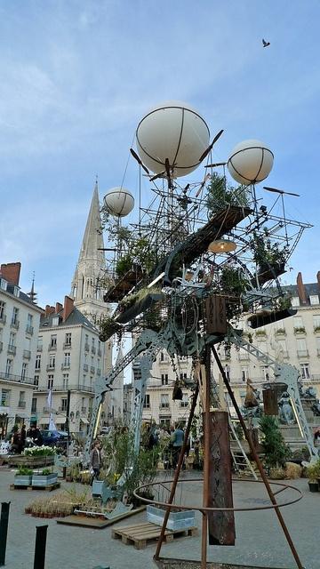 Serre Volante — Place Royale à Nantes