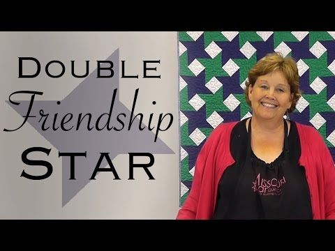 The Missouri Star Quilt Block: Easy Quilting Tutorial with Jenny Doan of MSQC - YouTube