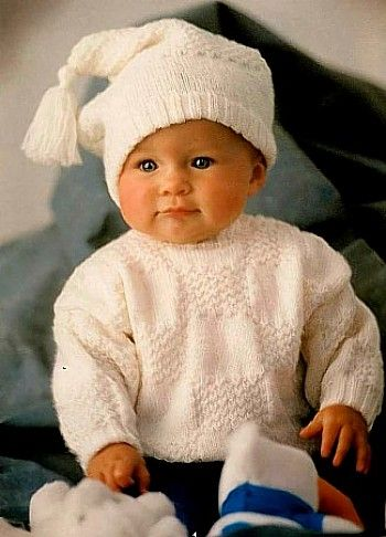 Vintage Patons Baby Knitting Patterns bebes Pinterest More Baby knittin...