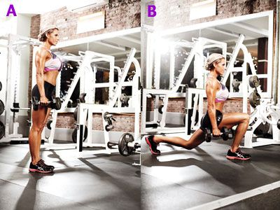 Get sleek, strong, and seriously shapely legs with a killer workout demonstrated by this seasoned fitness model and IFBB figure pro