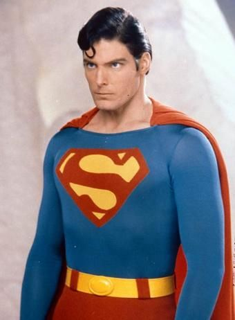 My first love Christopher Reeve. He's the best Superman EVER! The flying scene with Lois Lane blew me away...sigh..