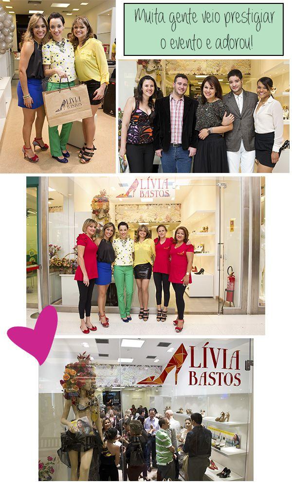 Coquetel de inauguração da loja Lívia Bastos e lançamento da 2ª Edição da Revista Taguatinga Shopping!
