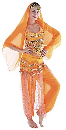 f988df06a6c6 Seawhisper 12 Colors Belly Dance Costumes India Dance Outfit Halloween  Carnival: Clothing
