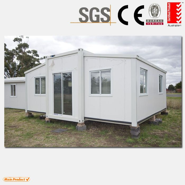 Mobile Home Cabin expandable container house 3 in 1