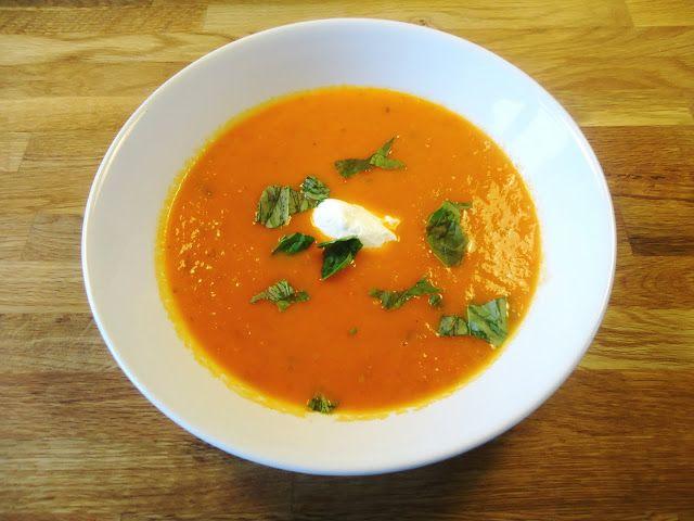 Italiaanse tomatensoep - Uit Paulines Keuken