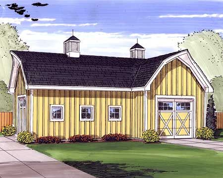 Plan 62469dj clever drive through garage house plans for House plans with drive through garage
