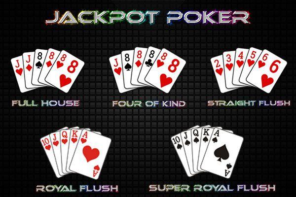 KARTU JACKPOT POKER | Poker, Full house, Blog