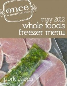Once-a-Month Mom: Hands down, best freezer meal website!!! Free, print out meal plans, shopping lists, AND food labels that coordinate with recipes, enough for a month, breakfast-lunch-dinner, Regular or Whole Foods plans that are both very yummy and gourmet without the effort, spend one day shopping/prepping and 1 day cooking. Gluten free meals, too!!!