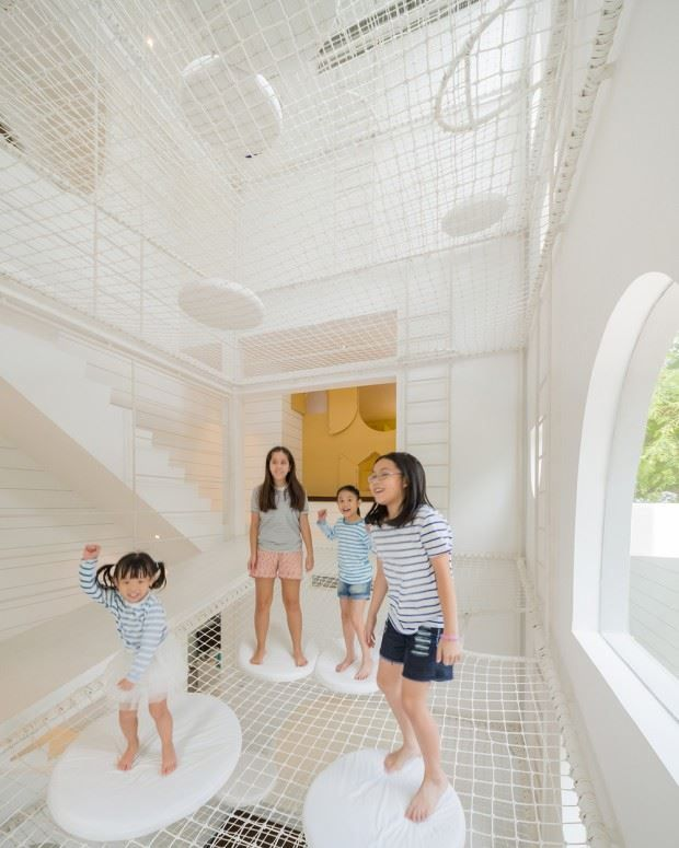 This Multi-Level Playground Is As Amazing As You'd Expect...And It's Home To Four Lucky Kids