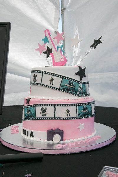 Cool rockstar cake