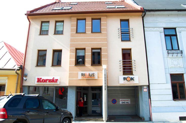 RIVUS V tejto budove v Prešove na Jarková 59 nás nájdete!