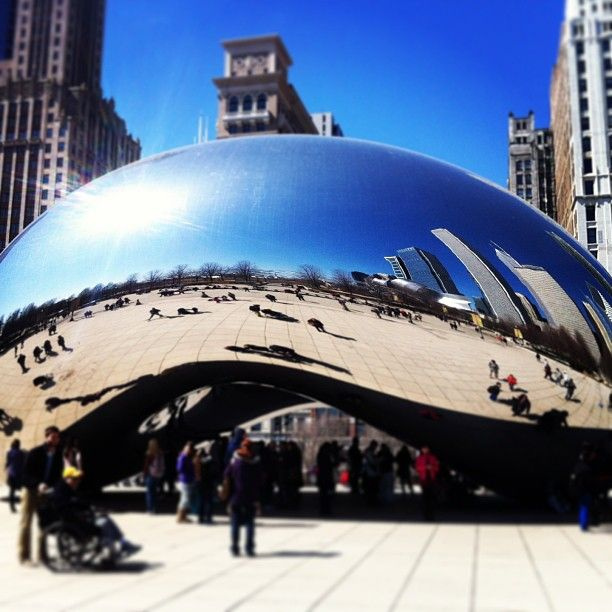 Cloud Gate in Chicago, IL