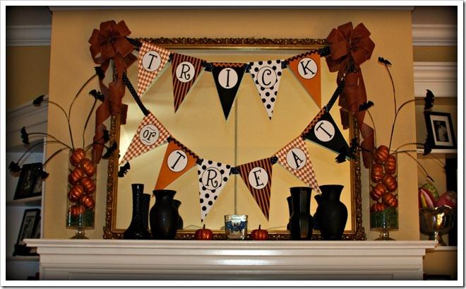 16 best Halloween Mantle/Shelves images on Pinterest DIY