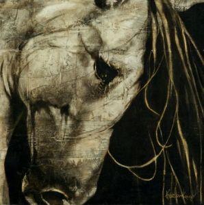 Kristin Knight Equine and western fine art.