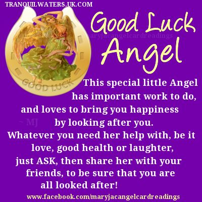 Lucky Horseshoe - Lucky Butterfly - Wishing Fairy - Good luck Angel - Luck - Wishes - Image quotes - Sayings - Good luck - wishes