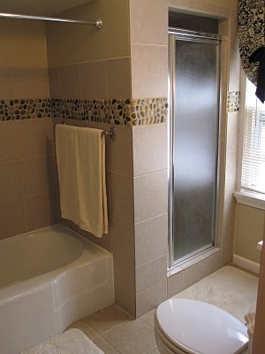 44 best images about bathroom ideas on pinterest for River rock bathroom ideas