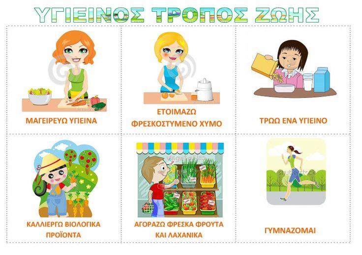 dreamskindergarten Το νηπιαγωγείο που ονειρεύομαι !: Λίστες αναφοράς για την υγιεινή διατροφή