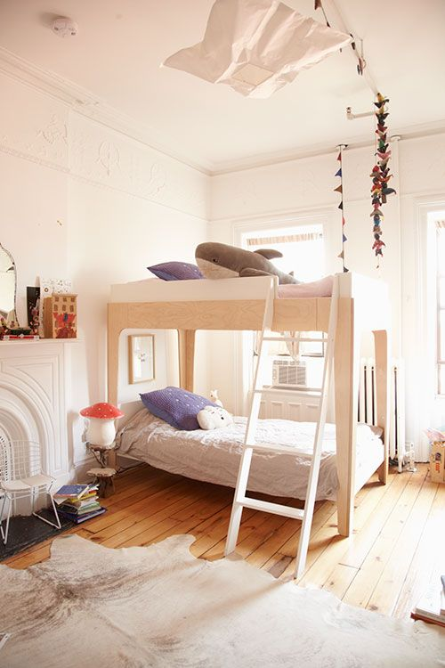 The Perch Bunk Bed Plywood Kids Bedroom Room Bunk Beds