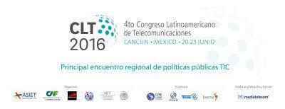 Los líderes del ecosistema digital se encontrarán en CLT16, que se realizará del 20 al 23 de junio en Cancún, organizado por UIT, CAF, GSMA, ASIET y la Secretaría de Comunicaciones y Transporte de México.
