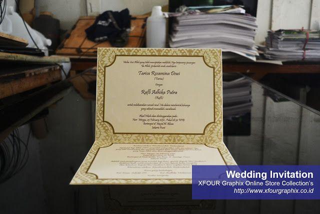 Undangan Pernikahan Amplop Murah Jakarta