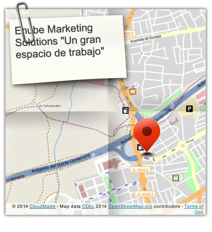 """""""Motivador"""" Así es nuestro """"taller de trabajo"""" situado en el edificio Corona Center de Bormujos, Sevilla. (courtesy of @Pinstamatic http://pinstamatic.com)"""