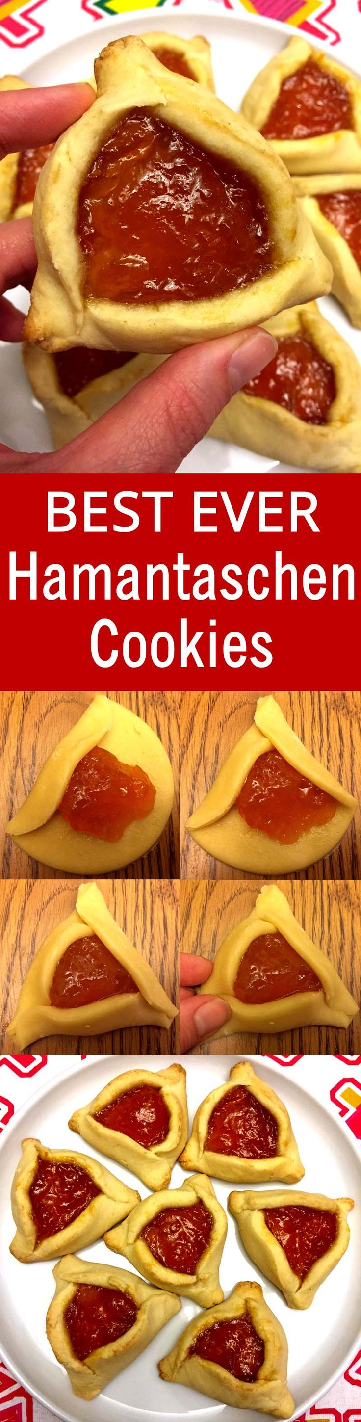 This is the only Hamantaschen recipe I'll ever need! So easy with step-by-step pictures!
