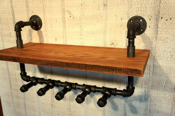 Cobblers Coat Rack With Five Hooks Industrial by Loftessentials, $145.00