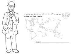 colorear la vuelta al mundo en 80 dias - Buscar con Google