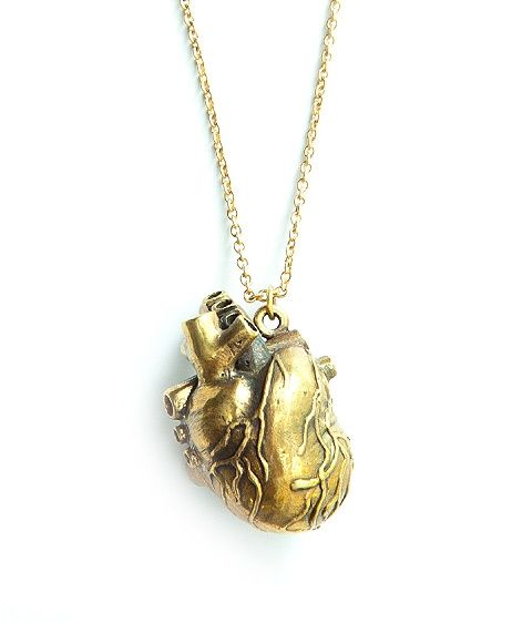 Naszyjnik serce Heart - Naszyjniki - Butik internetowy ooh!Andy - designerska biżuteria i ubrania ($1-20) - Svpply