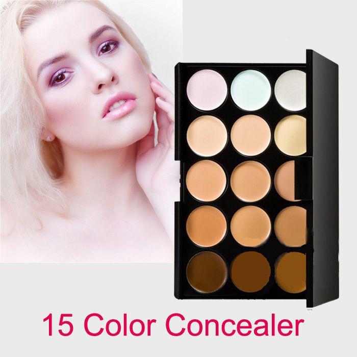 15 Цветов Профессиональный макияж корректор для лица Партии Контур Крем Для Лица Макияж Корректор Палитра