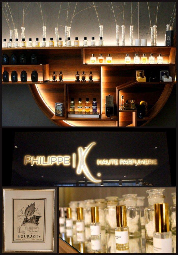 Boutique de haute parfumerie Philippe K, Lausanne, Suisse