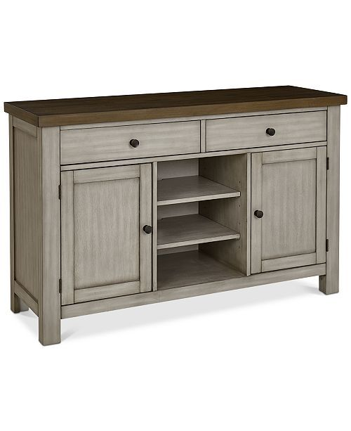A Kitchen Fairhaven: Fairhaven Sideboard, Created For Macy's - Slate