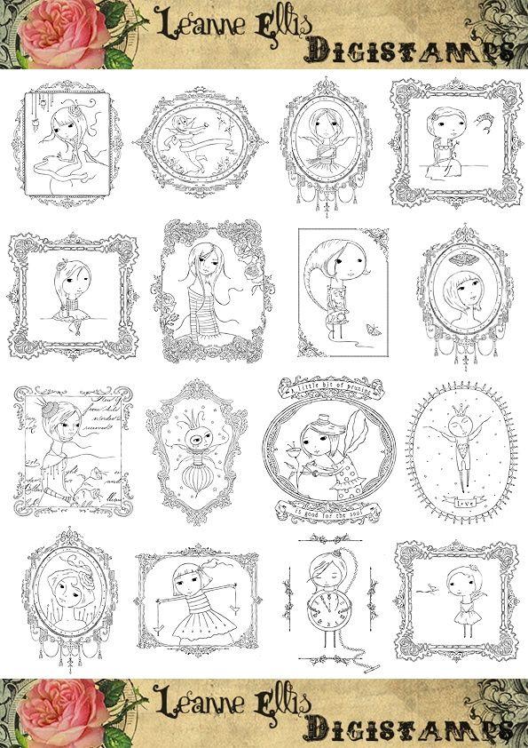 67 besten clipart baby Bilder auf Pinterest | Malbücher, Stempel und ...
