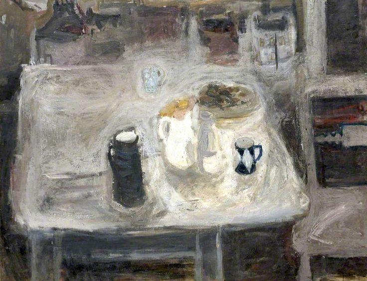 Still Life Beside Window (recto) by Elizabeth V. Blackadder