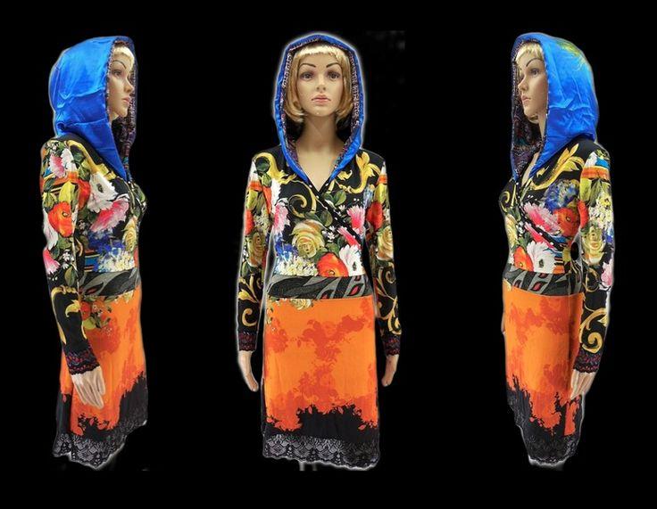 Kapuzenkleider - Chill Out Lounge Kleid - ein Designerstück von WARZOG bei DaWanda