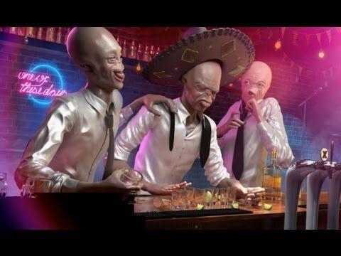 "CGI 3D Modeling 1080 HD: ""The Making of 'Drunk Aliens"" by - Lightfarm Studios - YouTube"