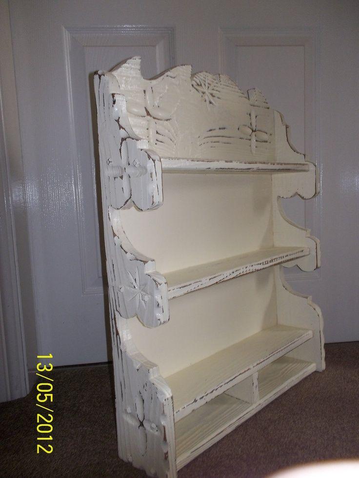 171 best images about shabby chic shelves on pinterest. Black Bedroom Furniture Sets. Home Design Ideas