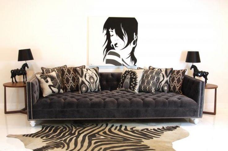 tufted velvet sofa wwwroomservicestore tufted deep sofa in charcoal velvet