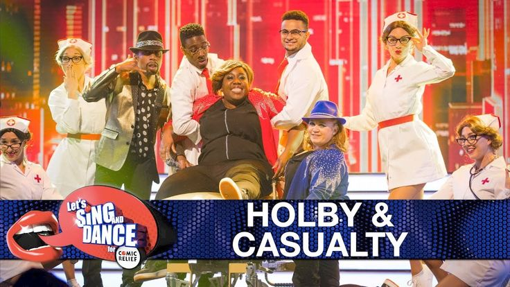 Holby City & Casualty cast perform 'Uptown Funk' - Let's Sing and Dance ...