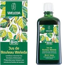 Weleda: Jus de bouleau bio, contribue à favoriser les fonctions d'élimination