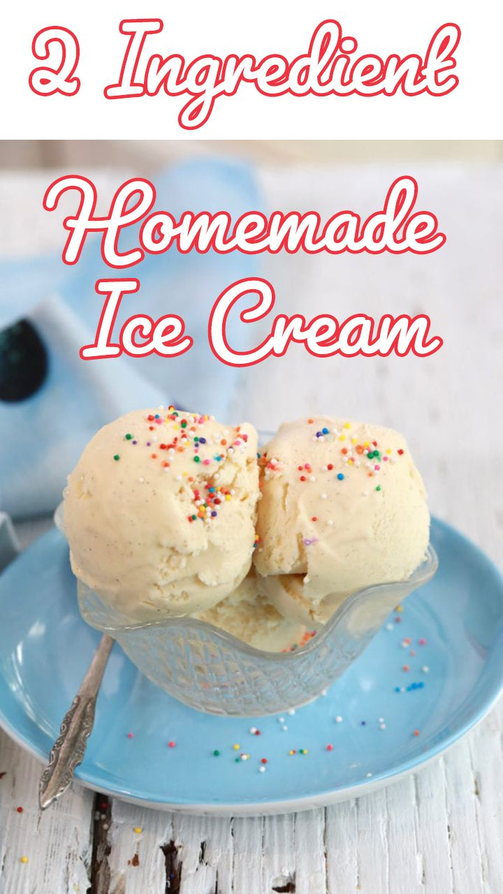 homemade ice cream with only 2 ingredients no machine video recipe easy homemade ice on hebbar s kitchen recipes videos ice cream id=69993