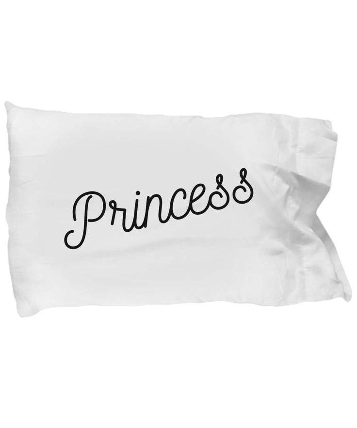 Princess Pillow Case. A Great Gift For a Very Special Person! by BearHugBoutique on Etsy